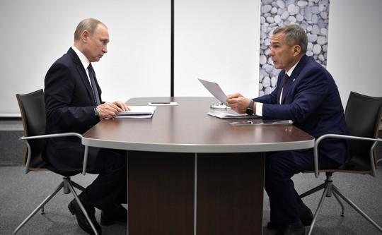 Путин «потерял» руководителя Татарстана напрезидиуме государственного совета