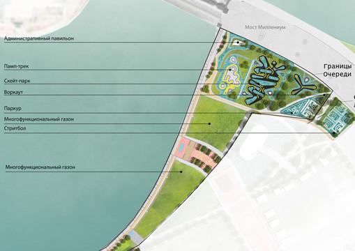 Новую набережную начали строить на левом берегу Казанки