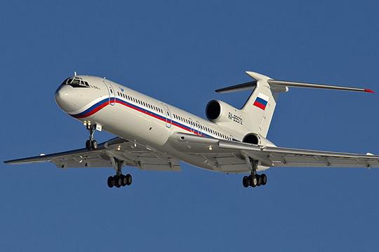 Полёты Ту-154 русских силовых ведомств приостановлены