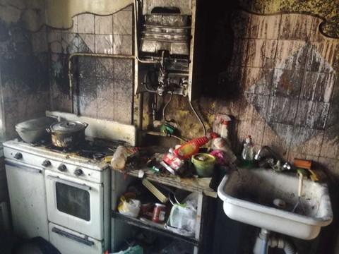 При пожаре в Зеленодольске спасли хозяина квартиры