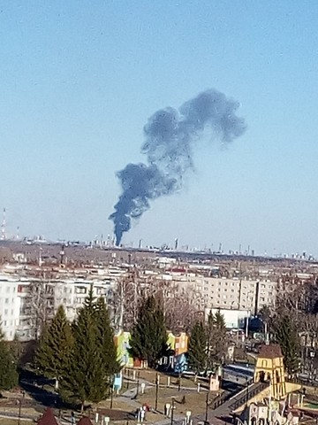 Пожар в промзоне Нижнекамска - 17 человек пострадали