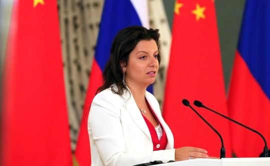 Собчак заявила, что Симоньян возглавит «Газпром-медиа»