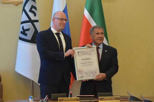 Татарстан иКХЛ подписали соглашение опроведение Недели Звезд Хоккея