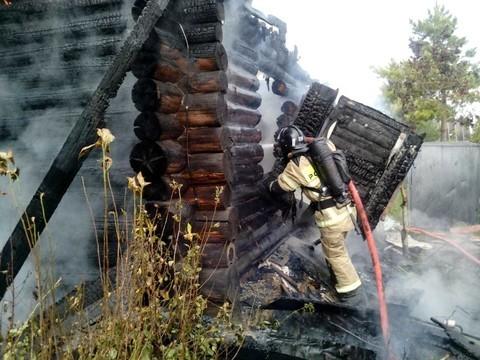 В Татарстане при пожаре на даче погиб мужчина – ему не хватило пары метров, чтобы выбраться из дома