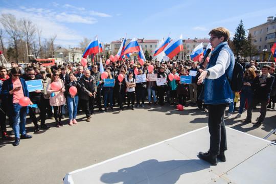 ЕСПЧ обязал РФ выплатить 15 тыс. евро стороннице Навального в Казани из-за акции «Он вам не Димон»