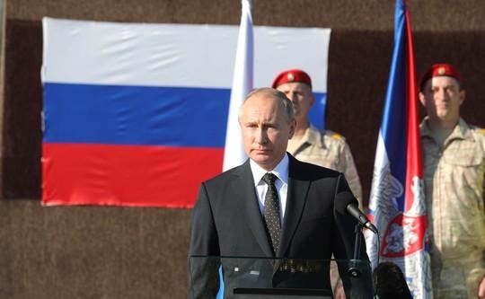 Путин назвал условие, при котором Россия выведет свои войска из Сирии