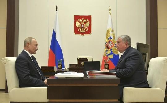В «Транснефти» раскритиковали доклад Сечина Путину