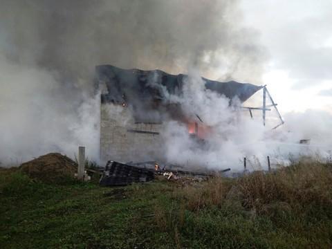 ВТукаевском районе «КАМАЗ» зажегся, пока шофёр спал