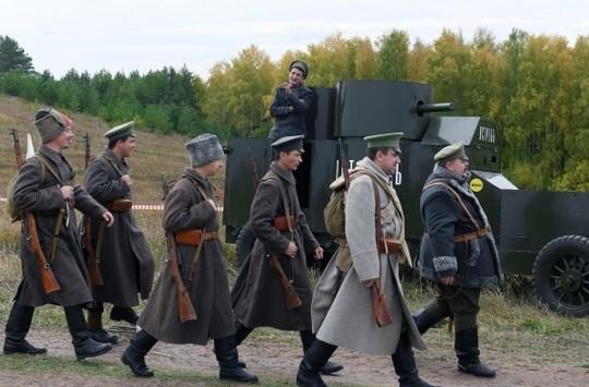 В Верхнем Услоне восстановили взятие Казани большевиками