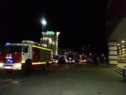 В Казани из ТРК «Тандем» эвакуировали 100 человек из-за задымления в ресторане