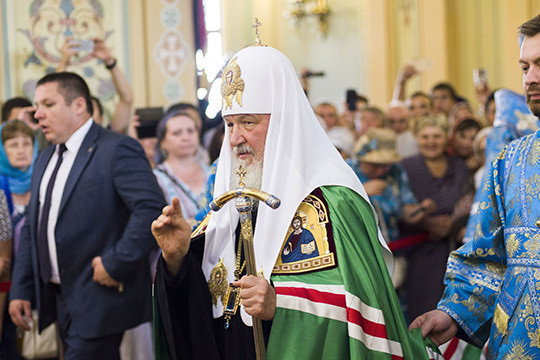 Андрею Воробьеву вручили награду насобрании духовенства имирян Московской епархии