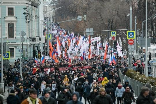 В российских городах прошли акции памяти Бориса Немцова