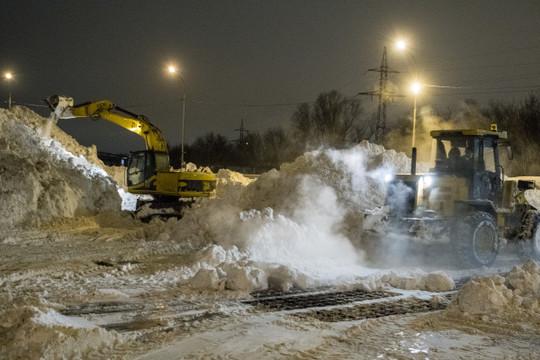 На Татарстан надвигаются сильный снегопад и метель до 16 м/с