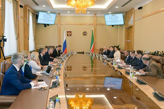 Рустам Минниханов встретился спредставителями английских компаний