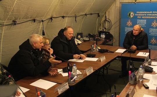 Путин в Магнитогорске побывал на месте ЧП и посетил в больнице пострадавших