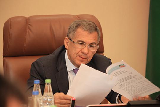 Минниханов избран председателем совета начальников «Татнефтехиминвест-холдинга»