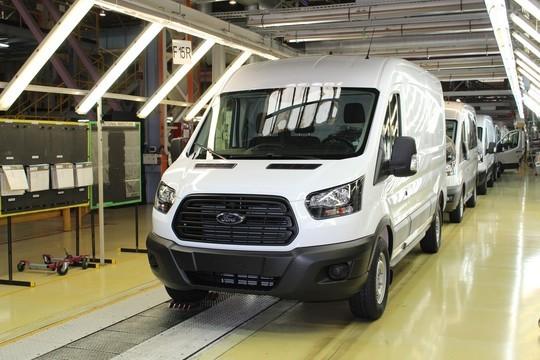 Продажи Ford Transit в России в 2019 году выросли на 7%