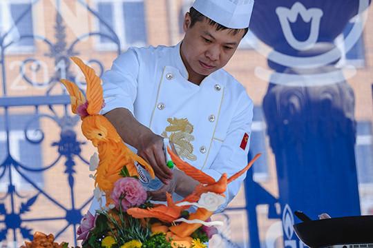 Впарке Тысячелетия открылся фестиваль «Вкусная Казань»