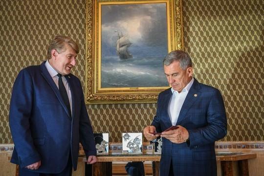 ЦИК РТ официально зарегистрировал Минниханова президентом Татарстана