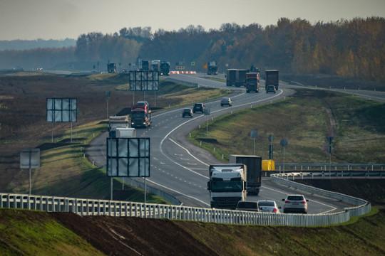 В Татарстане начали реконструкцию трассы М7 «Волга»