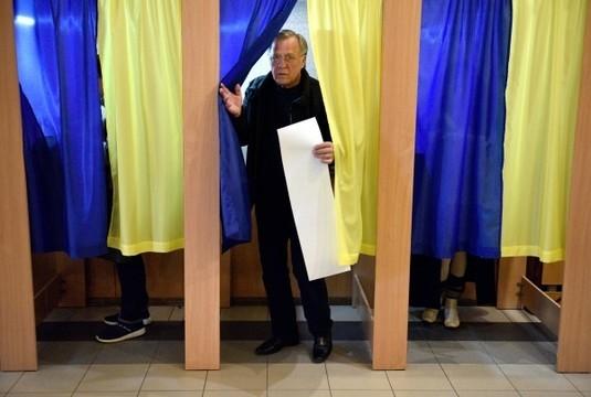 Президентские выборы на Украине в 10 фотографиях