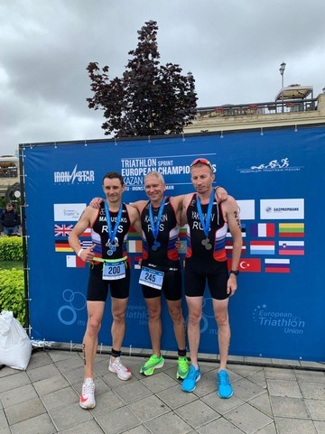 Глава исполкома Казани стал четвертым на чемпионате Европы по триатлону