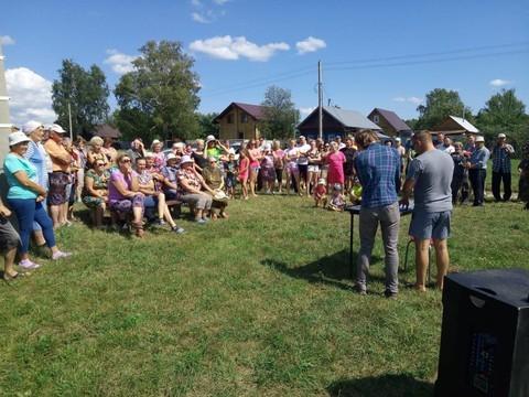 Жители села Тетеево собрали более 50 подписей против строительства кладбища под окнами жилых домов
