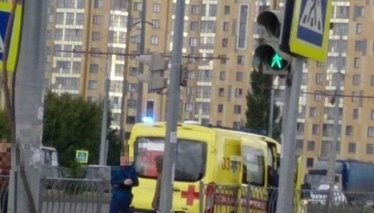 Два человека пострадали в аварии на одном из перекрестков Казани