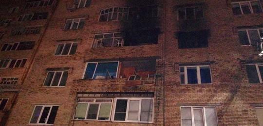 При пожаре в многоэтажке Нижнекамска погиб мужчина