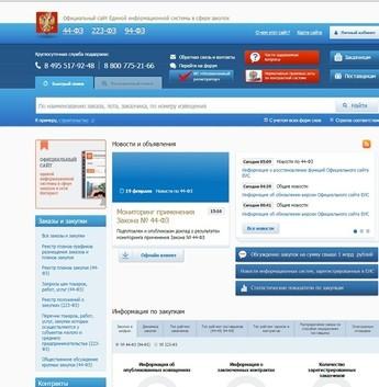 Структура школьного сайта с новыми требованиями 2017