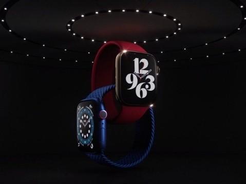 Apple представила новую версию умных часов Watch Series 6