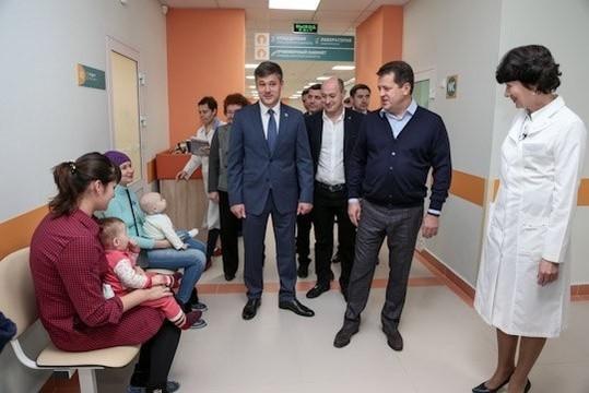 В Казани после капремонта в полную силу заработал филиал детской поликлиники №10