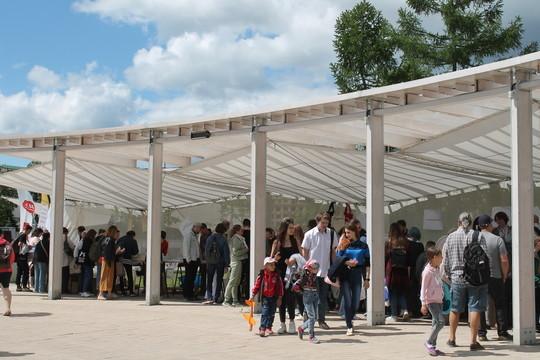 В Казани в парке «Черное озеро» открылся летний книжный фестиваль