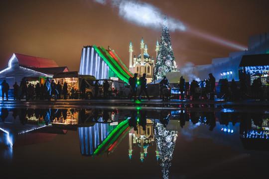 Казань вошла в десятку популярных городов для отдыха в новогодние каникулы 2019–2020 годов