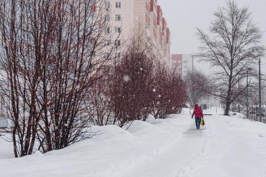 Мокрый снег, дождь, морось и метель: синоптики рассказали о погоде в Татарстане на следующей неделе