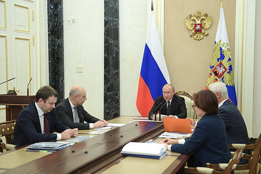 Путин поведал оросте зарплат исокращении безработицы