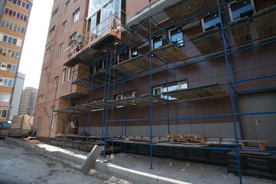 В Казани сдвинули сроки завершения работ в первом доме фоновского ЖК «Молодежный»