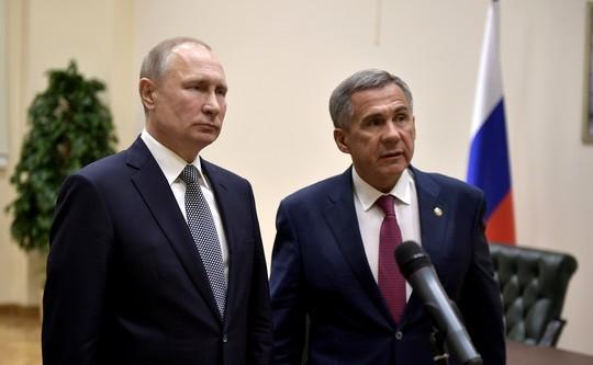 Путин сегодня встретится с Миннихановым