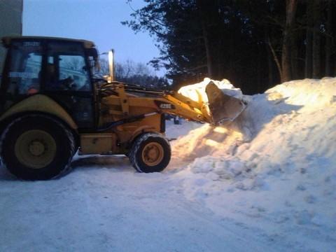 В исполкоме Челнов отчитались об уборке заваленного снегом парка