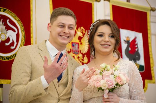 В Казани сотую регистрацию брака приурочили к 100-летию ТАССР