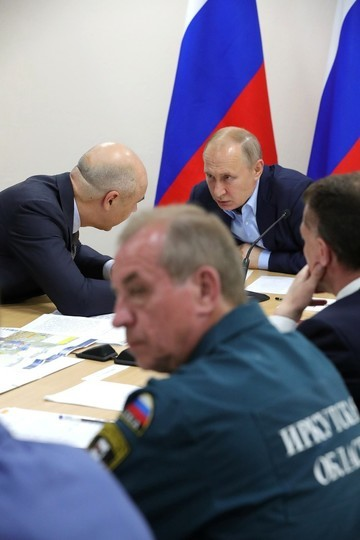 Путин раздал поручения на экстренном совещании в Иркутской области, пострадавшей от наводнения