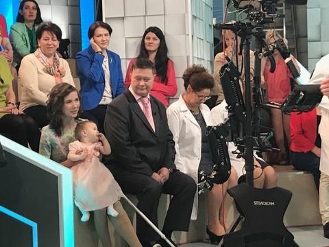 Мед. персонал изТатарстана приняли участие впрограмме на«Первом канале»