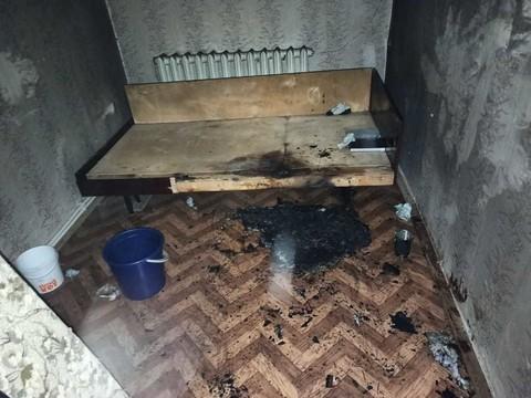 В Татарстане из пожара в квартире спасли мужчину