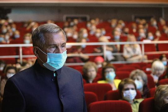 Минниханов об ограничениях из-за пандемии: «Закрыть все - это самый простой путь»