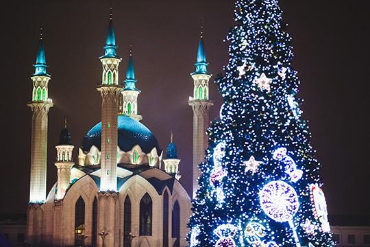 Татарстан вновогодние каникулы-2018 принял неменее 130 тыс. туристов