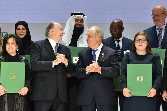 Принц Ага Хан в Казани вручил премию за программу развития общественных пространств РТ