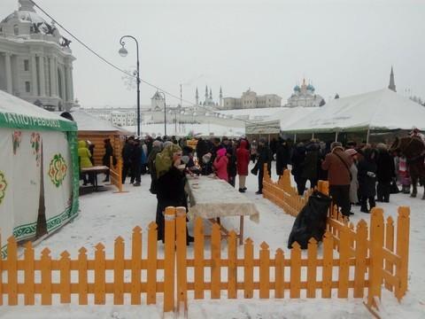 Минсельхоз Татарстана приглашает напраздник всквер перед Дворцом земледельцев