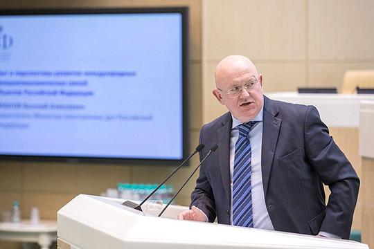 Гатилов: профильный Комитет Совфеда одобрил кандидатуру Небензи надолжность постпреда при ООН