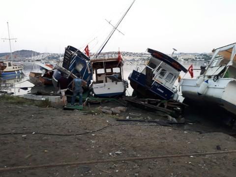 Мощное землетрясение вЭгейском море вызвало цунами на известном курорте