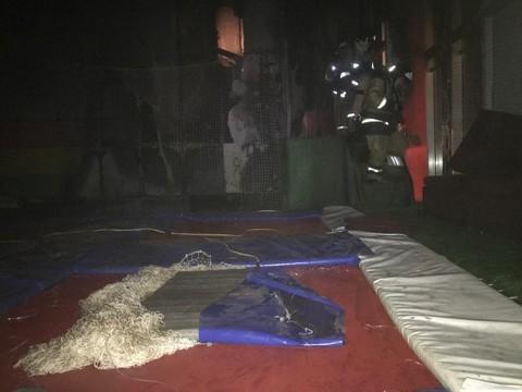 Названа причина пожара в нижнекамском ТЦ с детским залом